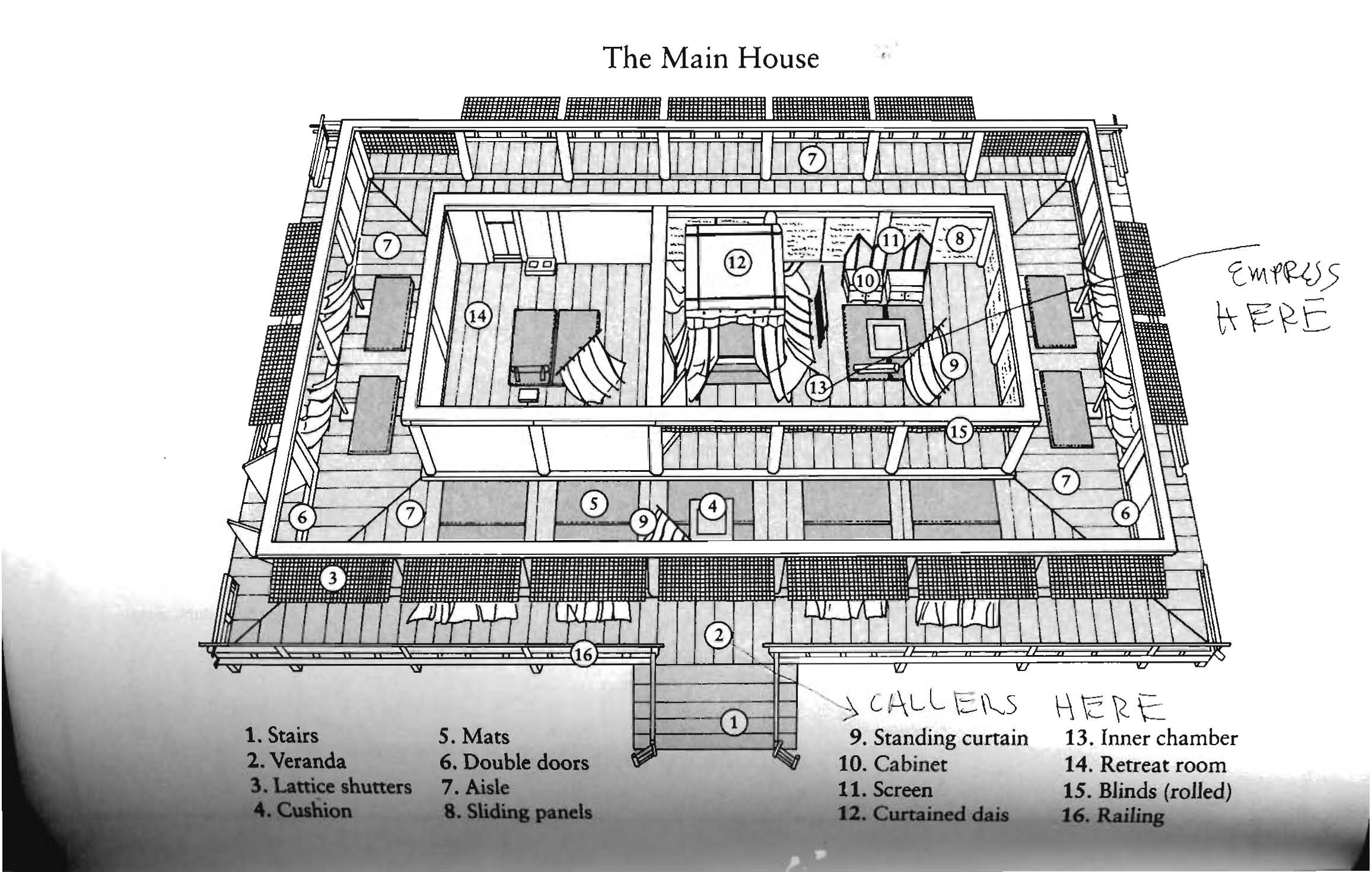 Floorplan Of Traditional Japanese Structure Perfect For Small